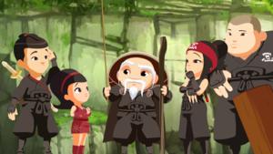 Mini ninjas groupe