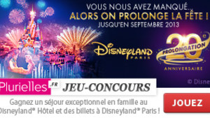 Concours Disney20e Anniversaire