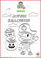Julius jr joyeux halloween