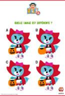 Quelle image Halloween est différente-julius jr