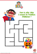 labyrinthe d'halloween-julius jr