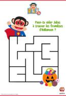 labyrinthe d'halloween-julius jr