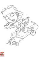 Reggie skate roue arrière